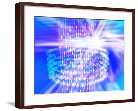 Genetic Research-PASIEKA-Framed Art Print