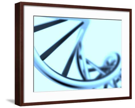 DNA Helix-PASIEKA-Framed Art Print