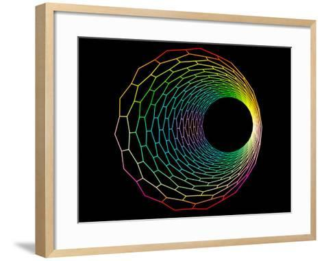 Carbon Nanotube-PASIEKA-Framed Art Print