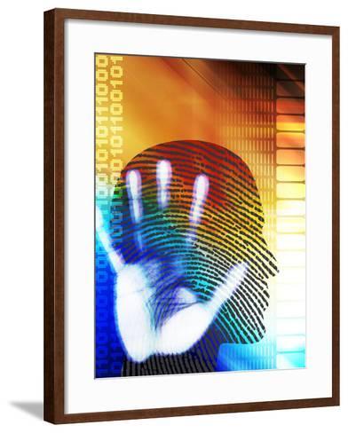 Forensic Science-PASIEKA-Framed Art Print