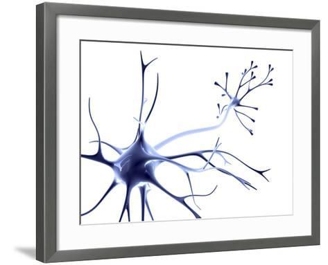 Nerve Cell-PASIEKA-Framed Art Print