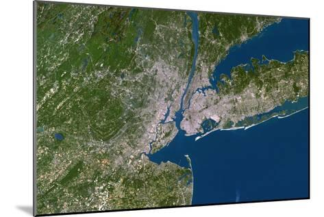 New York City-PLANETOBSERVER-Mounted Photographic Print