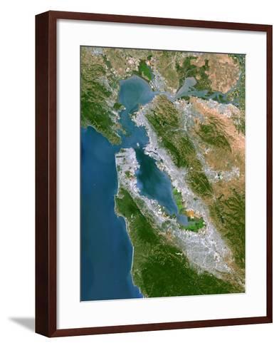 San Francisco-PLANETOBSERVER-Framed Art Print