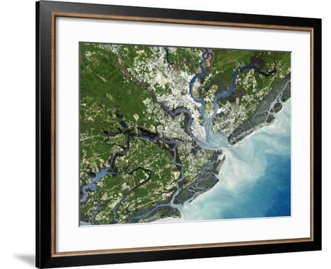 Charleston, South Carolina, USA-PLANETOBSERVER-Framed Art Print