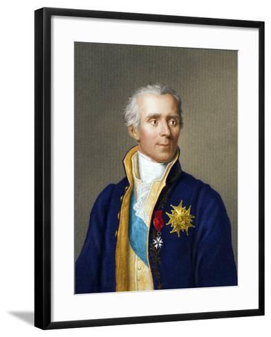 Pierre Simon, Marquis De Laplace-Maria Platt-Evans-Framed Art Print