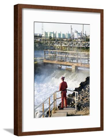 Waste Water Monitoring-Paul Rapson-Framed Art Print