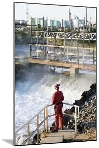 Waste Water Monitoring-Paul Rapson-Mounted Photographic Print