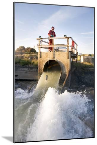 Waste Water Sampling-Paul Rapson-Mounted Photographic Print
