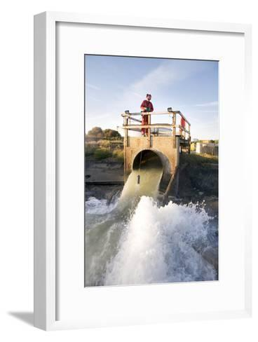 Waste Water Sampling-Paul Rapson-Framed Art Print