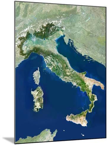 Italy, Satellite Image-PLANETOBSERVER-Mounted Photographic Print