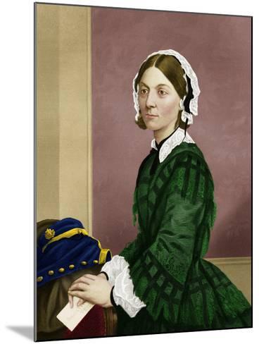 Florence Nightingale, Nursing Pioneer-Maria Platt-Evans-Mounted Photographic Print