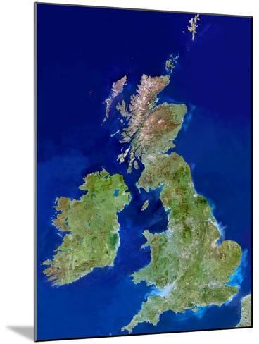 British Isles, Satellite Image-PLANETOBSERVER-Mounted Photographic Print