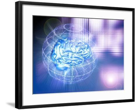Artificial Intelligence-PASIEKA-Framed Art Print