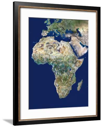 Africa-PLANETOBSERVER-Framed Art Print