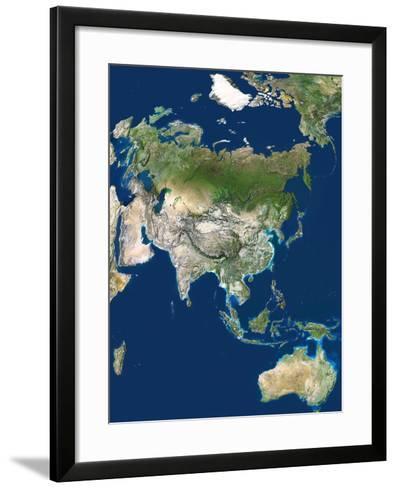 Asia-PLANETOBSERVER-Framed Art Print