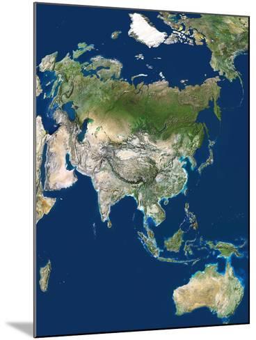 Asia-PLANETOBSERVER-Mounted Photographic Print