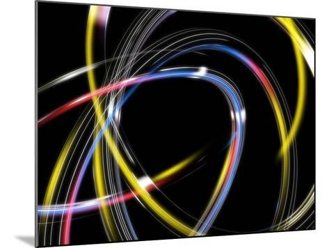 Circles, Abstract Computer Artwork-PASIEKA-Mounted Photographic Print