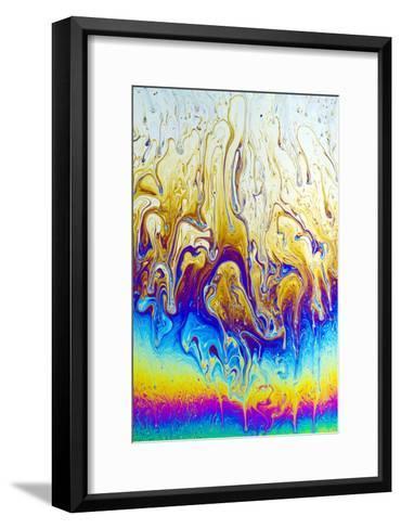 Soap Film Patterns-Rapson Rapson-Framed Art Print
