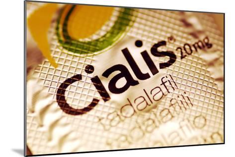 Cialis Packaging-PASIEKA-Mounted Photographic Print