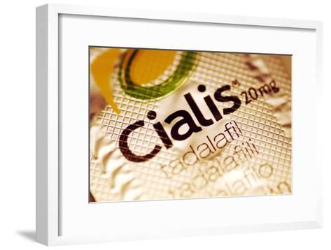 Cialis Packaging-PASIEKA-Framed Art Print