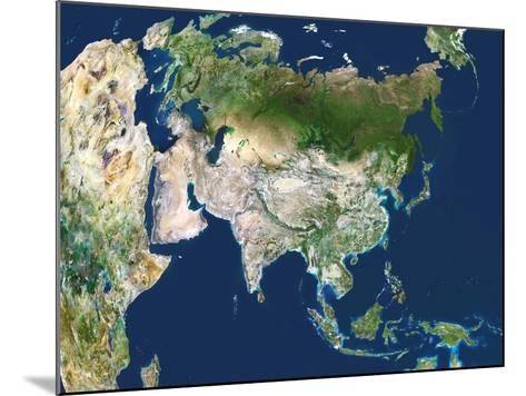 Asia, Satellite Image-PLANETOBSERVER-Mounted Photographic Print