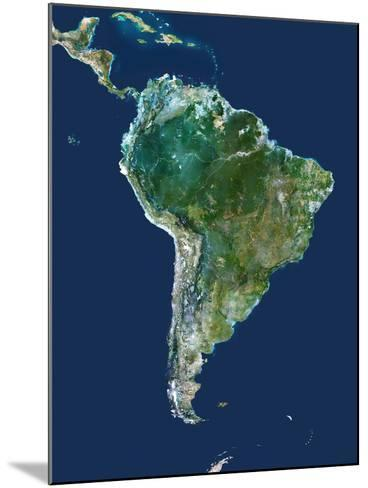 South America, Satellite Image-PLANETOBSERVER-Mounted Photographic Print