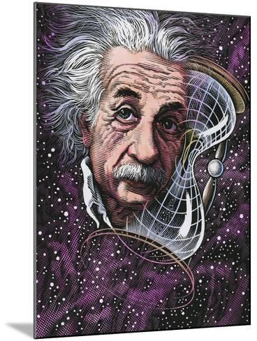 Albert Einstein, German Physicist-Bill Sanderson-Mounted Photographic Print