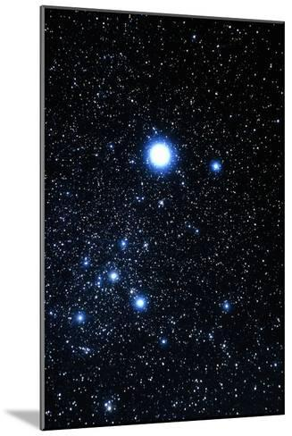 Constellation Canis Major with Halo Effect-John Sanford-Mounted Photographic Print