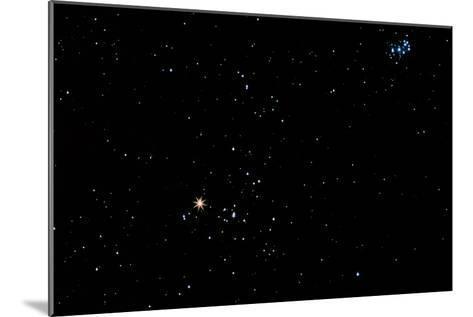 Aldebaran Star In the Constellation of Taurus-John Sanford-Mounted Photographic Print