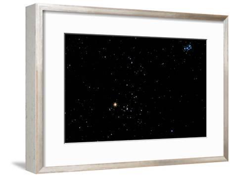 Aldebaran Star In the Constellation of Taurus-John Sanford-Framed Art Print