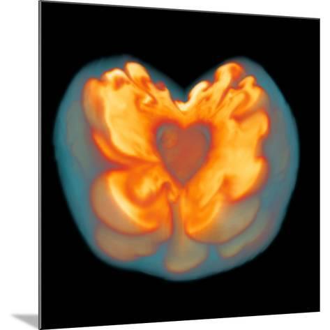 Supernova Explosion-Leonhard Scheck-Mounted Photographic Print