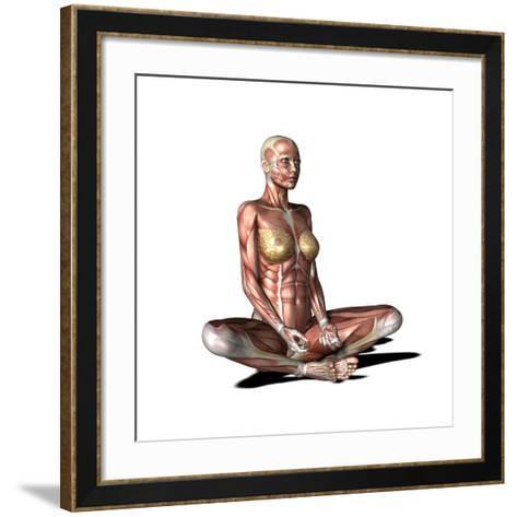 Female Muscles, Artwork-Friedrich Saurer-Framed Art Print
