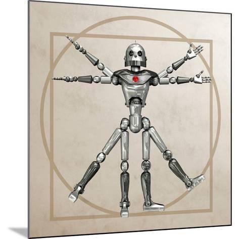 Robot, Artwork-Friedrich Saurer-Mounted Photographic Print