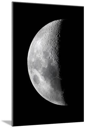 Waxing Crescent Moon-John Sanford-Mounted Photographic Print