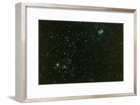 Optical Photo of the Hyades Star Cluster-John Sanford-Framed Art Print