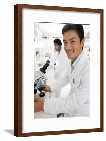 Biologists-Science Photo Library-Framed Art Print