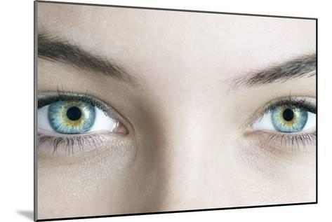 Woman's Eyes-Science Photo Library-Mounted Photographic Print