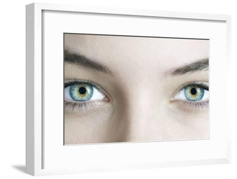 Woman's Eyes-Science Photo Library-Framed Art Print