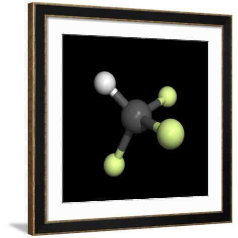Trifluoromethane Molecule-Friedrich Saurer-Framed Art Print