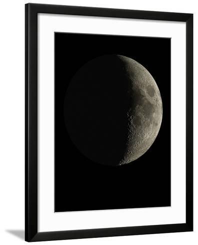 Waxing Crescent Moon-Eckhard Slawik-Framed Art Print