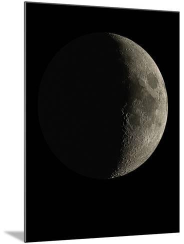 Waxing Crescent Moon-Eckhard Slawik-Mounted Photographic Print