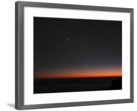 Planetary Conjunction, Optical Image-Eckhard Slawik-Framed Art Print