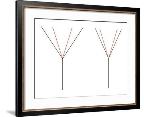 Angle Illusion-Science Photo Library-Framed Art Print