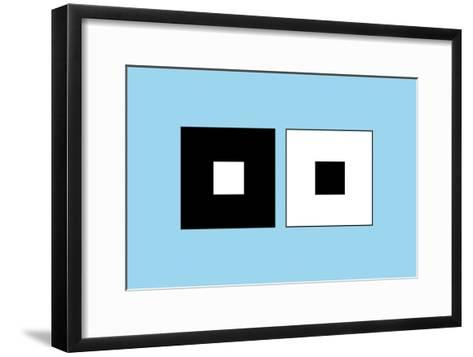 Irradiation Illusion-Science Photo Library-Framed Art Print