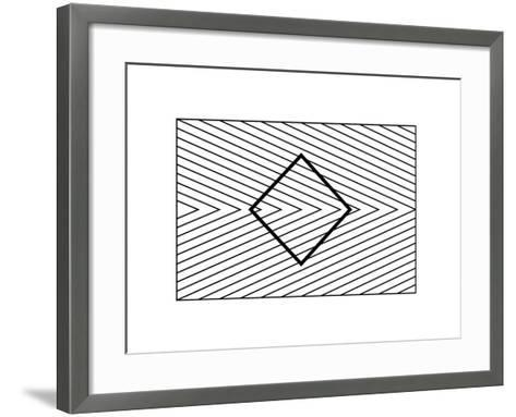 Orbison Illusion-Science Photo Library-Framed Art Print