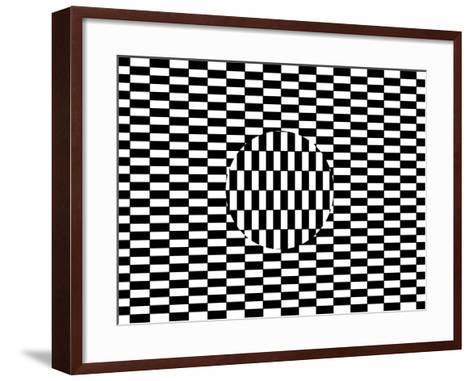 Ouchi Illusion-Science Photo Library-Framed Art Print