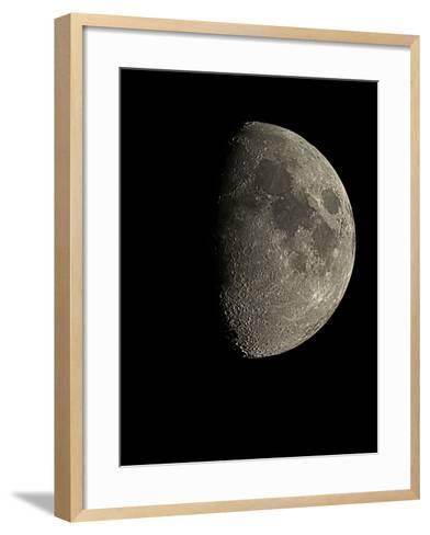 Waxing Gibbous Moon-Eckhard Slawik-Framed Art Print