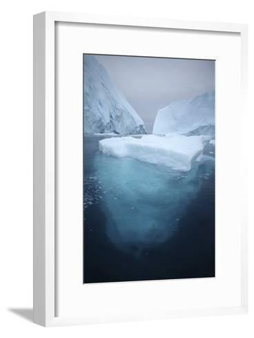 Iceberg-Robbie Shone-Framed Art Print
