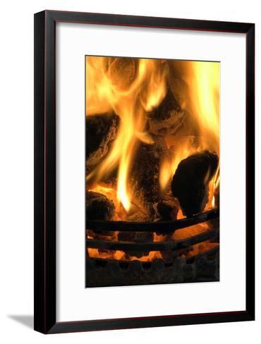 Coal Fire-Duncan Shaw-Framed Art Print