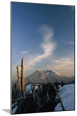 Mount St Helens Volcano-Alan Sirulnikoff-Mounted Photographic Print